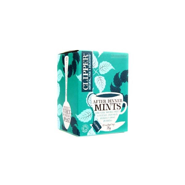 Clipper After Dinner Mints 20bag - Vitalityfoods