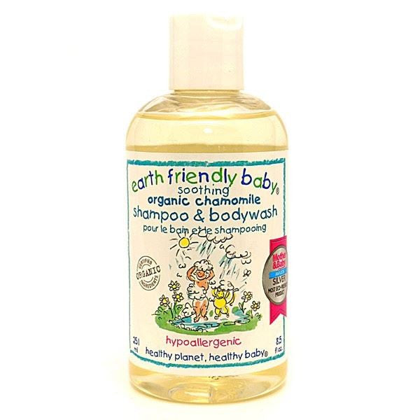 Earth Friendly Baby Soothing Chamomile Shampoo 250ml - Vitalityfoods