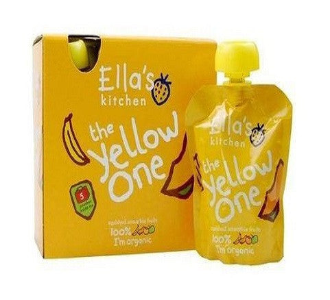 Ellas Kitchen Smthie Frt - Yellow One mltpc 5 x 90g - Vitalityfoods