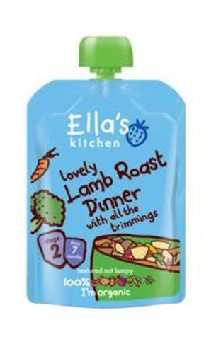 Ellas Kitchen S2 Lamb Roast Dinner 130g - Vitalityfoods