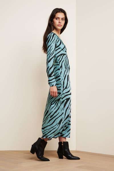 Doris Lou Dress Zebby Zebra