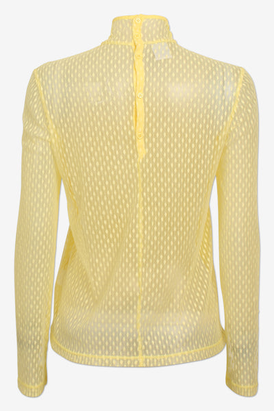 Majbrit Wax Yellow Top