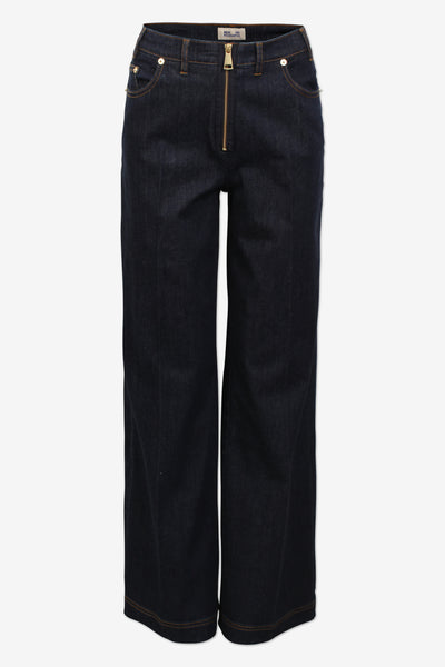 Nicia Blue Denim Pants
