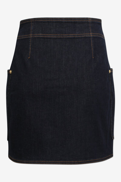 Shannon Denim Rinse Skirt