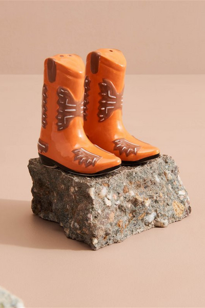Cowboy Boot Salt and Pepper Shaker