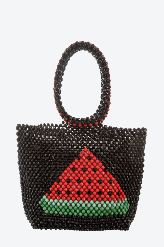 Watermelon Beaded Bag