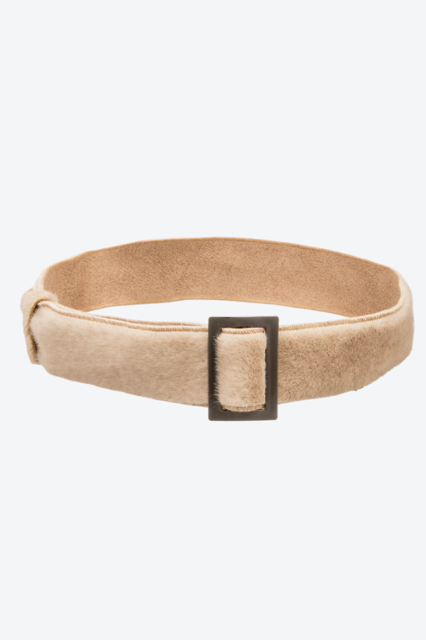 Teddy Belt Taupe