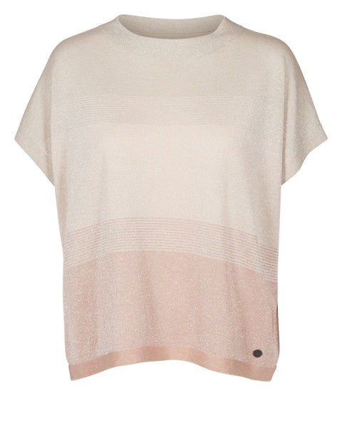 DARLENE LUREX TEE BY NUMPH
