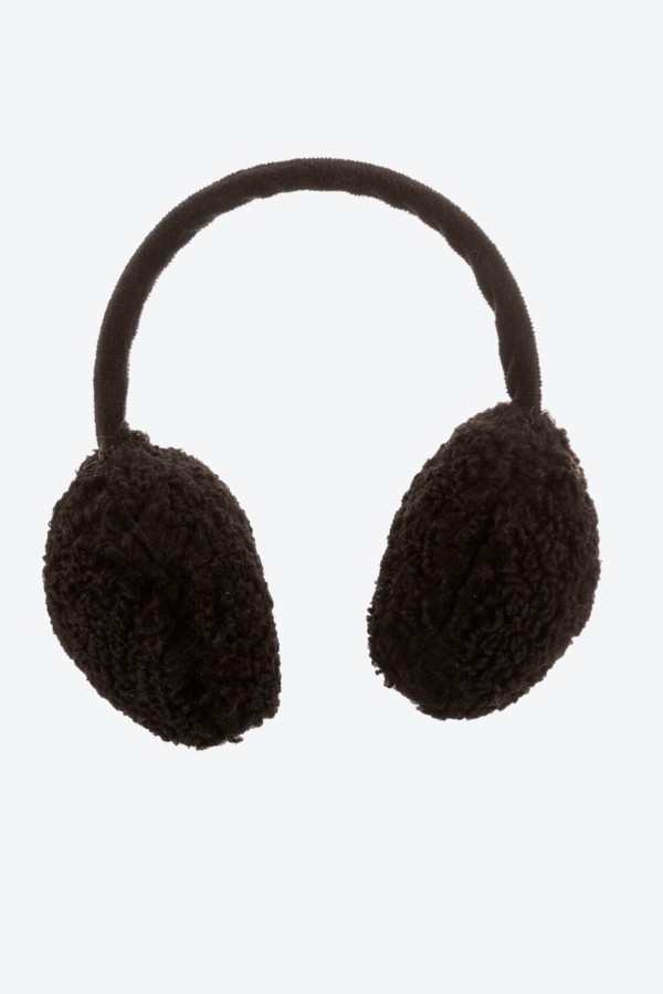 Teddy Earmuffs Black