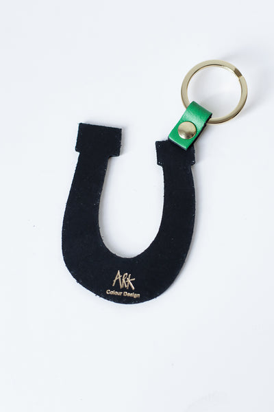 Be Lucky Keyring Green