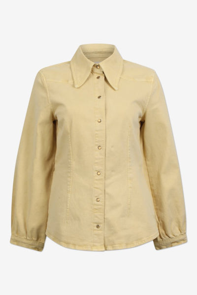 Bonny Yellow Denim Shirt