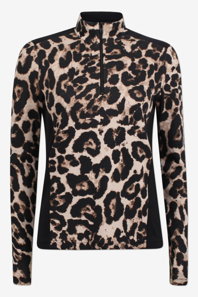 Jade Leopard Top