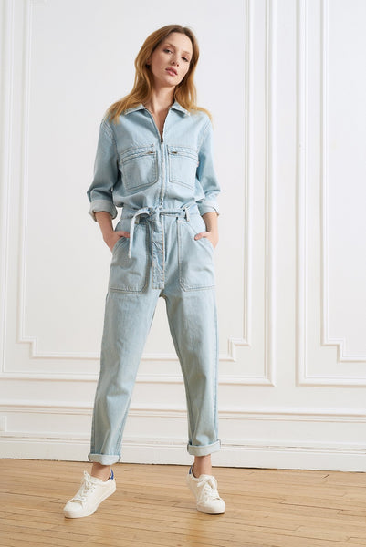 Celia Denim Blue Jumpsuit