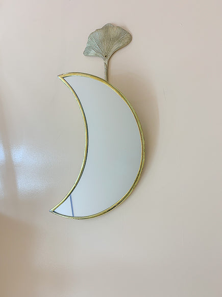 Moon Brass Mirror