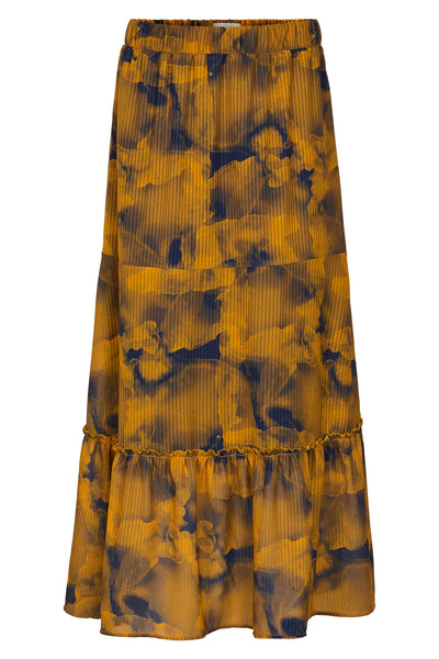 Leighton maxi printed skirt by Numph. Shop now at S-120.com.