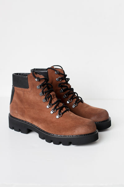 Fury Brown Combat Boots