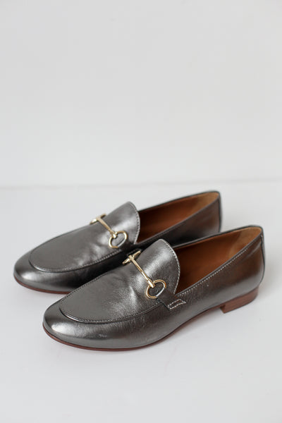 Lea Bronze Pewter Loafers