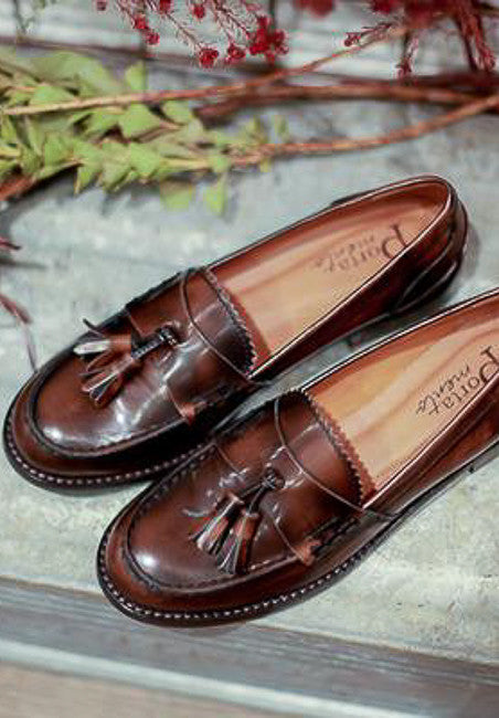 Bella Brown Loafers