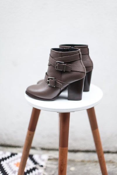 Angie Taupe Boots
