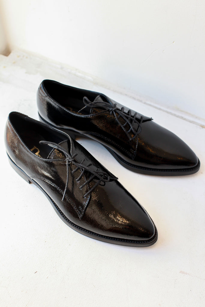 Napla Black Brogues