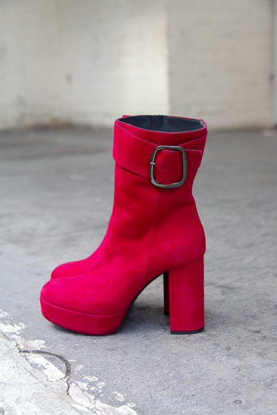 Pam Red Boots