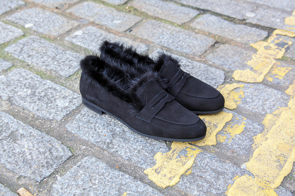 Ene Black Loafers
