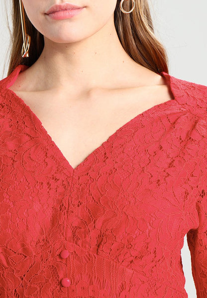 FLAME LACE TOP BY SISTER JANE