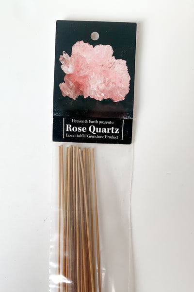 Incense Rose Quartz