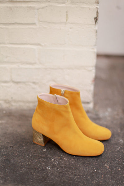MOLLY YELLOW GOLD BOOTS