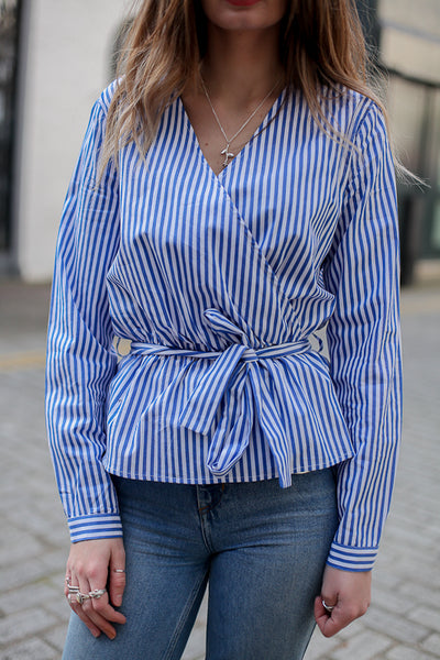 KLEMENS STRIPED BLOUSE