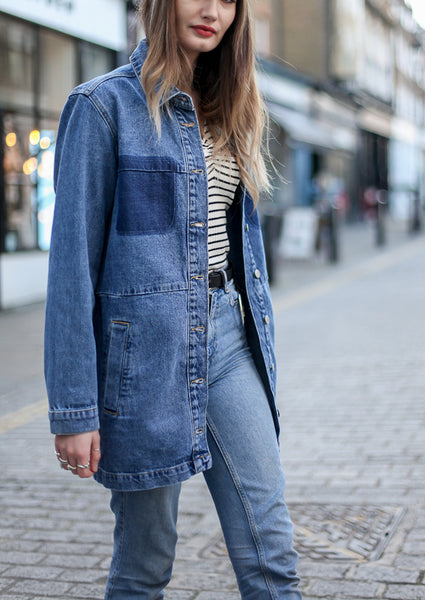 ARC OVERSIZED DENIM JACKET MBYM