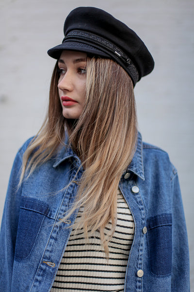 Sailor Hat Black