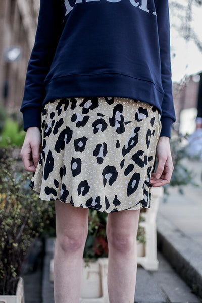 HATTIE LEOPARD SKIRT