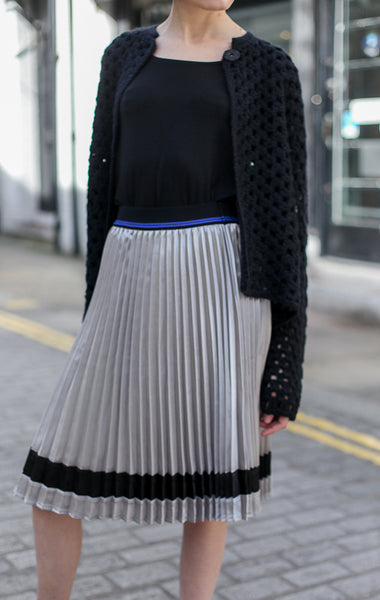Pleat Plisse Skirt