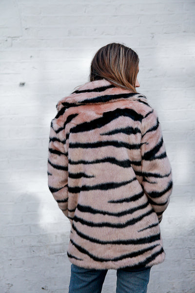 pink heather tiger by jakke