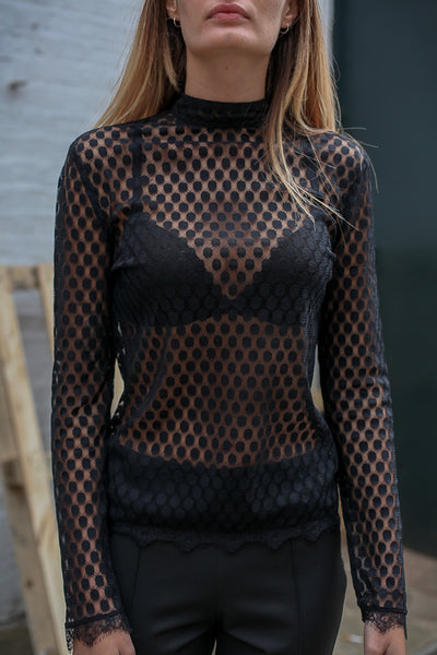 SHEER TOP BY ANOTHER LABEL NEW AMSTERDAM