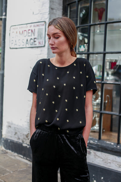 GOLD STAR TOP BY FABIENNE CHAPOT