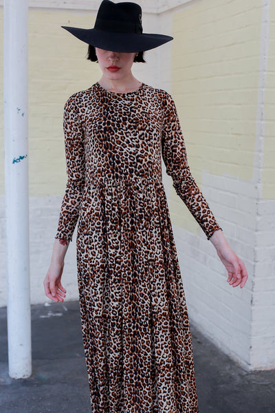 Freja Leopard Dress