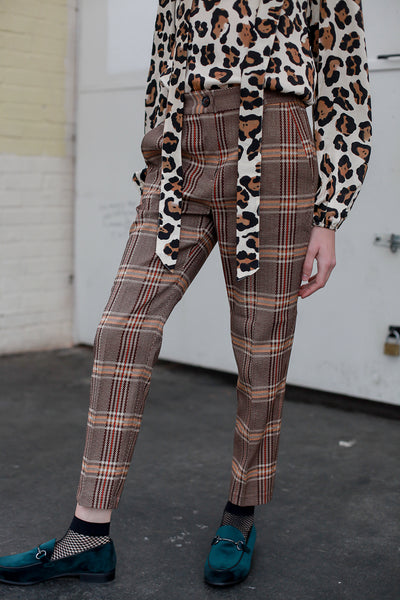 Alessia Check Trousers