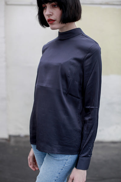 Shiny turtleneck blouse by Yaya - Shop at S120