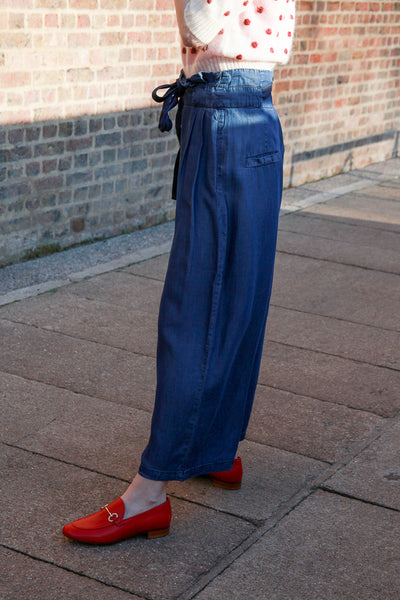 new toyon denim pants by numph scandi