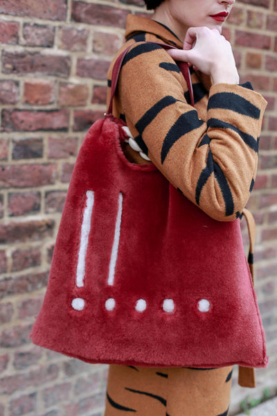 Picasso Burgundy Bag