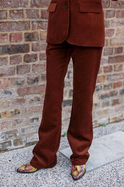 Parfait Corduroy Brown Trousers