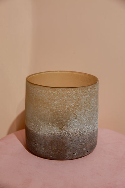 Two tone glass pot by Yaya Homeware. Shop at S-120.com