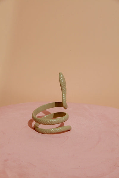 Brass napkin ring Snake by Yaya Homeware. Shop at S-120.com