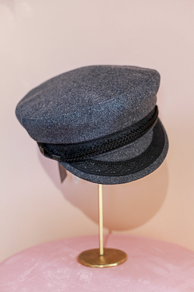 Sailor Hat Dark Grey
