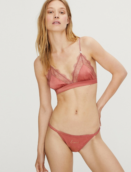 Wild Rose Vintage Rose Brief