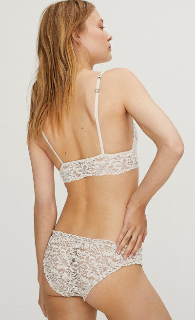 Dawn Off White Bra