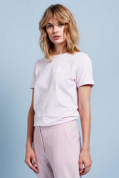 jules t shirt lilght lilac by another label new amsterdam