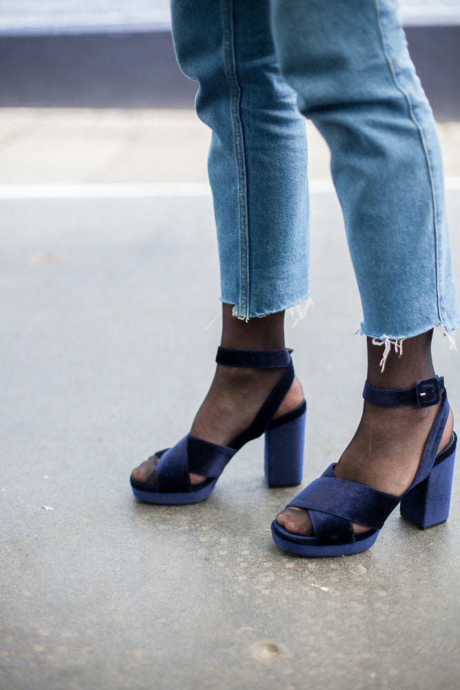 Blair Blue Sandals